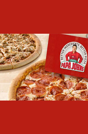 Custom Listing for papajohns