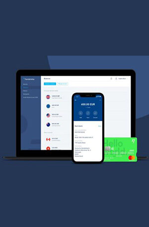 Transferwise VERIFIED BUSINESS account + Mastercard + SIM card
