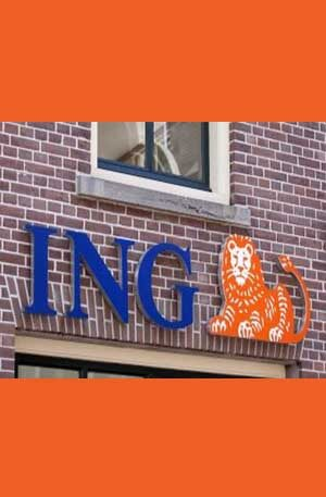 ING bank account + Kraken (open beneficiary account)