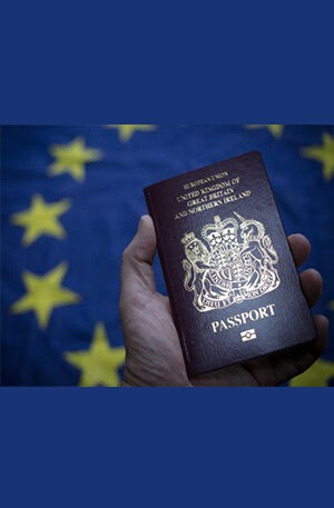 PHYSICAL EUROPEAN PASSPORT