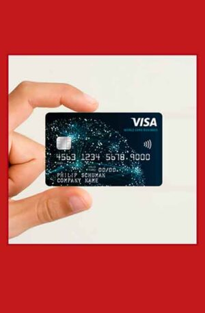 1 x Visa Prepaid 3100$ / 2700€