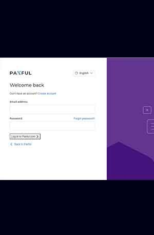 Paxfull 1 (Country) Single Login Phishing page | Scam Page