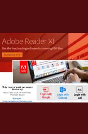 Adobe15 Single Login Scam Page | Phishing Page | Hacking Script