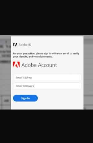 Adobe PDF Cloud Original Double Login Spam Page | Phishing Page