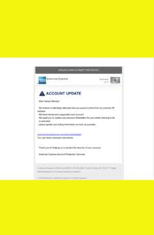 American Express Phishing Page | Single Login Scam Page
