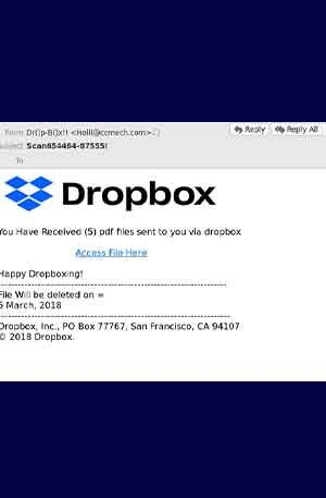 Dropbox 18 Phishing Page | Single Login Scam Page | Hacking Script