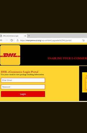 DHL-3 Phishing Page | DHL3 Single Login Scam Page | Script