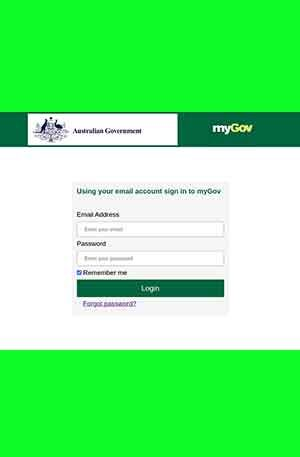 myGov Phishing Page | Scam Page | MyGov Single Login