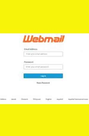 General Webmail 2 Phishing Page | Double Login Scam Page
