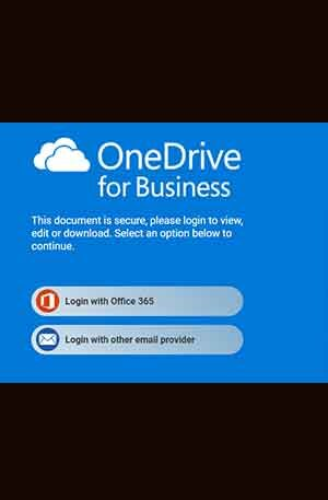 OneDrive EV Single Login Phishing page | Scam Page