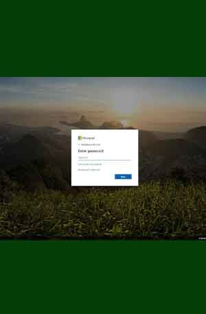 Outlook Style2 Phishing Page | Single Login Scam Page | Hacking Script