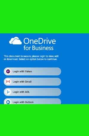 Onedrive26 Phishing Page | Single Login Onedrive 26 Scam Page
