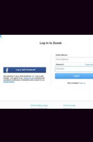 Zoosk Style1 Phishing Page | Single Login Scam Page | Phishing Script
